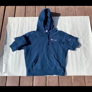 Champion Life Reverse Weave Hoodie Blue